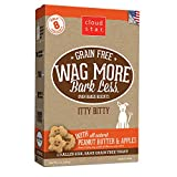 Cloud Star Wag More Oven Baked Grain Free Biscuits - 7 ounce Itty Bitty, Peanut Butter, Apples