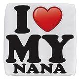 13 Inch 6-Sided Cube Ottoman I Love My Nana Grandma Grandmother
