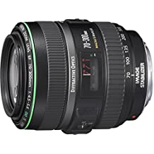 Canon EF 70-300mm f/4.5-5.6 DO IS USM Autofocus Telephoto Zoom Lens - USA - Special Promotional Bundle