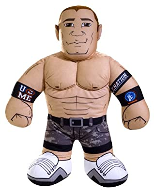 Wwe Brawlin Buddies John Cena Plush Figure by Mattel