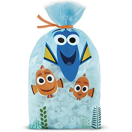 Wilton Finding Dory Treat Bags, Multicolor