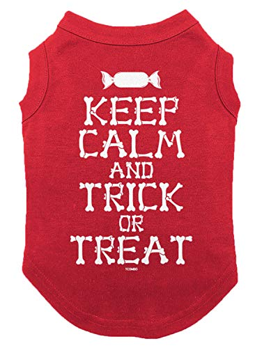 Tcombo Keep Calm and Trick Or Treat Dog