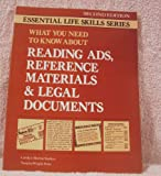 What You Need to Know about Reading Ads, Legal Documents and Reference Materials, Carolyn M. Starkey and Norgina W. Penn, 0844256560