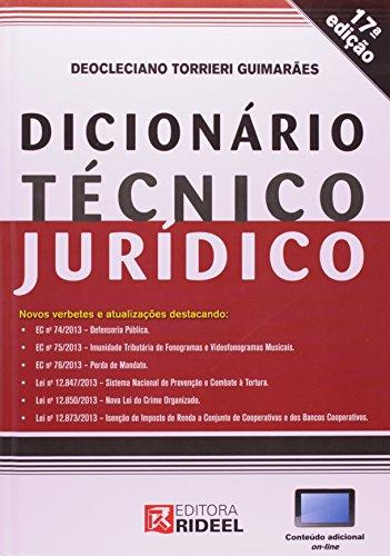 Dicionario Tecnico Juridico