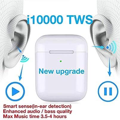 I10000 TWS - Auriculares inalámbricos Bluetooth 5.0 para ...