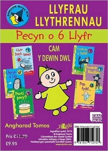 Book Cyfres Darllen Mewn Dim - Cam y Dewin Dwl: Pecyn Llyfrau Llythrennau (Welsh Edition)
