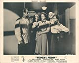 Women's Prison Lobby Card Howard Duff Ida Lupino Jan Sterling Audrey Totter