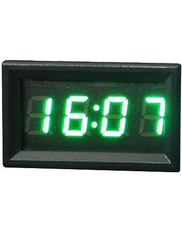 Reloj digital para tablero o salpicadero, de Hunpta, accesorio para motocicleta o coche,