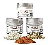 Taste of the Mediterranean Gourmet Seasoning & Spice Collection