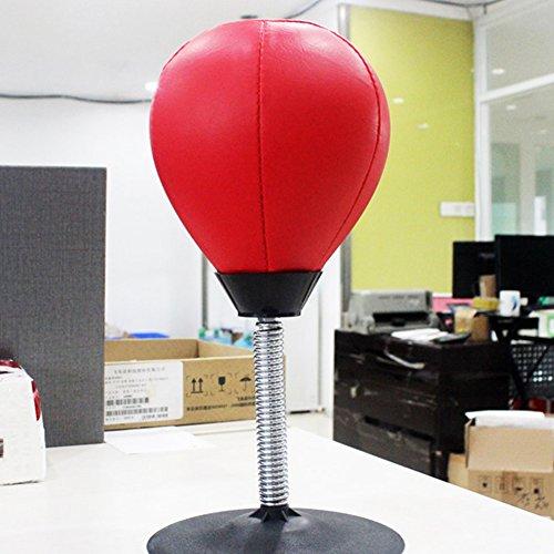 Kalolary Desktop Punching Ball Mini Boxsack Stress Reliever