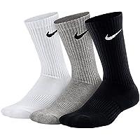 Nike 3P Yth Ctn Cush Crew W/ Moist
