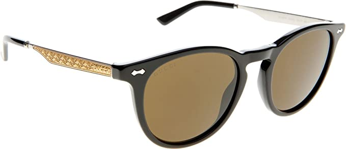 757f3c6d0b474 Image Unavailable. Image not available for. Color  Gucci Oval Sunglasses ...