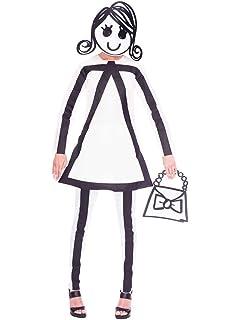 LIRAGRAM ESPAÑA, S.L.L. Disfraz de Stickman Chico para Adulto M/L: Amazon.es: Juguetes y juegos