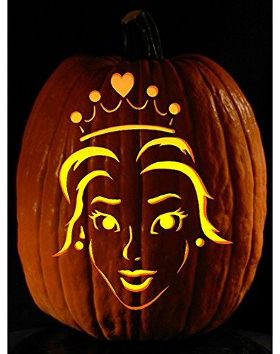 Princess Pumpkin Carving Patterns (Pumpkin Carving Tattoo Pattern Princess Power)
