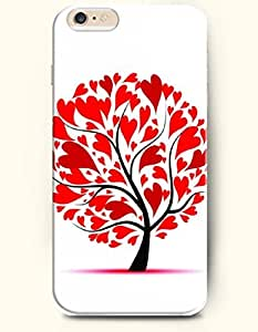 OOFIT Apple iPhone 6 Case 4.7 Inches - Red Tree