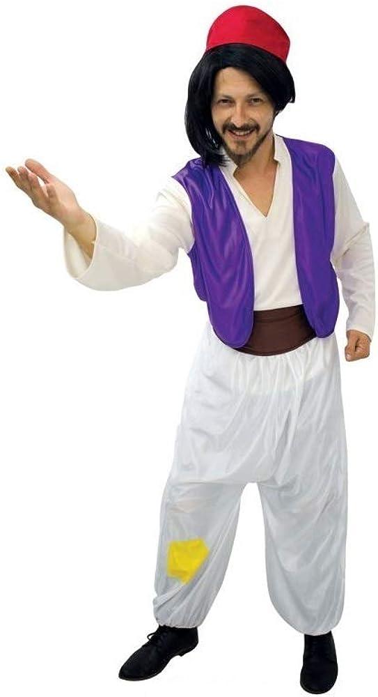 LBA Disfraz de Árabe, tipo Aladdín. Contiene: Camisa con chaleco ...