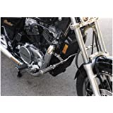 MC Enterprises Multi-Fit Hi-Way Bars With O-Ring Footpegs Chrome Universal