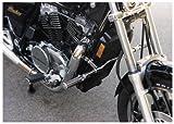 MC Enterprises Multi-Fit Hi-Way Bars With O-Ring Footpegs Chrome Universal