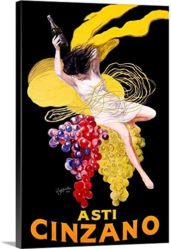 Cinzano Asti Aperitif Wine Vintage Advertising Poster Canvas Wall Art Print