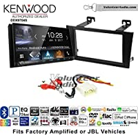 Volunteer Audio Kenwood DDX9704S Double Din Radio Install Kit with Apple Carplay Android Auto Fits 2000-2004 Toyota Avalon with Amplified System