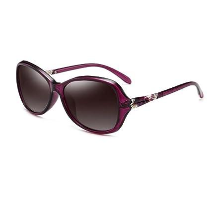 Amazon.com: CJC sunglasses Polarized Women\'s Large Frame Eyeglasses ...