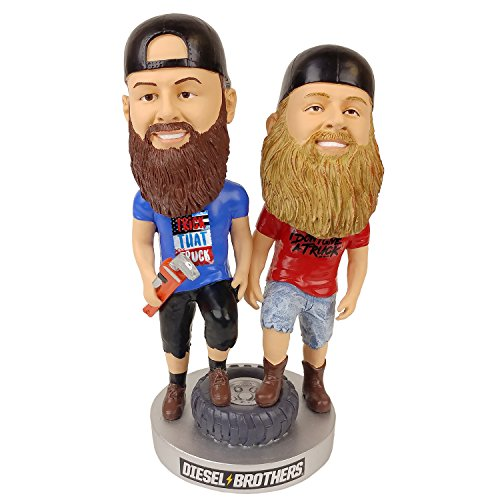 Kollectico DBROS Diesel Brothers Double Bobblehead, Blue ()