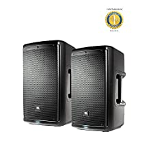 "2 x JBL EON610 10"" 2-way Multipurpose Self-powered PA Speaker with 1 Year EverythingMusic Extended Warranty Free"