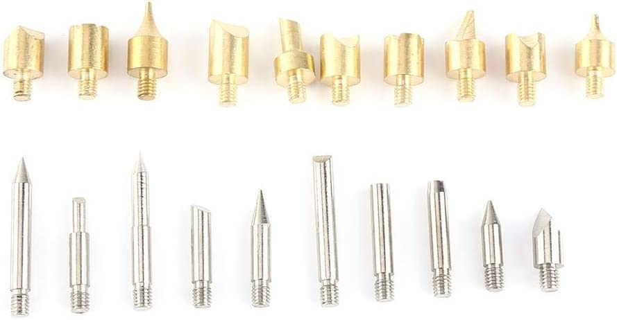 28Pcs Wood Burning Pen Tips Pyrography Wood Working and Soldering Tips Alphabet Numbers Symbols Stencils Wood Burning /& Soldering Iron Kit Wood Burning Tools