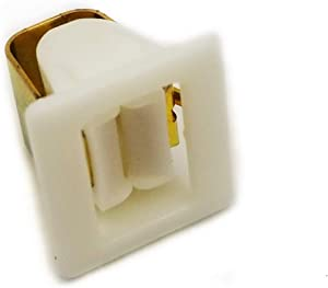 EXP571 Dryer Door Catch Replaces 131658800, WP71002106, WP3389441, 5307521419, WE1X1195, 00491624, 4027EL2001A, 10690002, 10690001, WE01X10023, WE1X1153, WE10X27373, WE01X10184