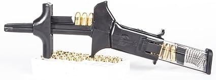 Elite Tactical Systems ETS Speedloader Ladehilfe f/ür 9mm Luger und Kaliber .40 Pistolen Glock, CZ etc.