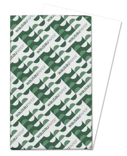 Wausau Vellum Cardstock, 92 Brightness, 67 lb, 8.5 x 14 Inches, White, 250 Sheets (82212)