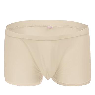 c7ead20f674b3b IBTOM CASTLE Sexy Jockstrap Low Rise Pouch Comfortable Breathable Underwear  Nude M