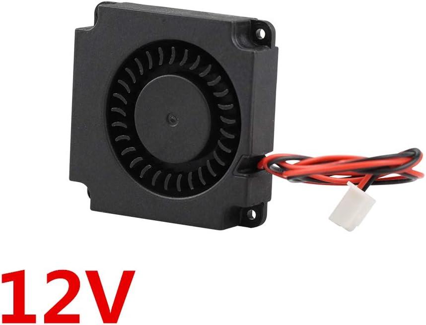 WLKK Ventilador de turbina 5V 12V 24V 40mm * 10mm 4010 DC Ventilador Turbo Ventilador de cojinete de 5V Ventiladores de enfriamiento Radial para la Impresora 3D Kit Creality CR-10