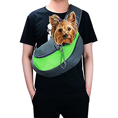 Shoulder Sling Carrier For Small Dogs