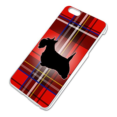 Scottie Dog on Red Plaid Scottish Terrier Slim Fit Hard Case Fits Apple iPhone 6 6s Plus