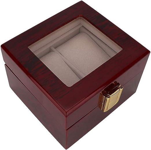 yuyte 2 Rejillas Caja de Almacenamiento de Reloj portátil ...