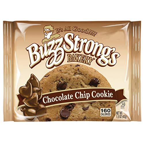 Buzz Strong's 1.5 Oz Whole Grain Chocolate Chip Cookie, Case of 60 (Best Whole Grain Chips)