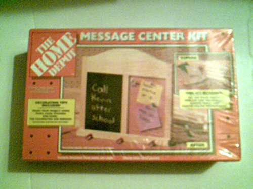 Home Depot - Message Center Kit by Home Depot