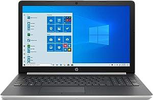 HP 15.6 inch HD LCD Touchscreen Laptop | Intel Quad Core i5-8265U | 16GB DDR4 | 1TB HDD+256GB SSD | HDMI | DVD | Windows 10 | Silver