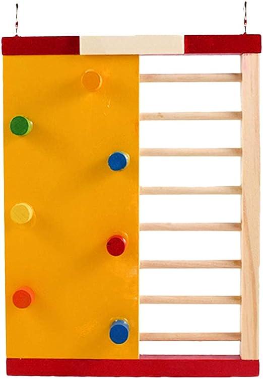 dontdo - Juguete de Escalada de Madera para Escalada, Escalera de Escalada, Jaula para Mascotas: Amazon.es: Productos para mascotas