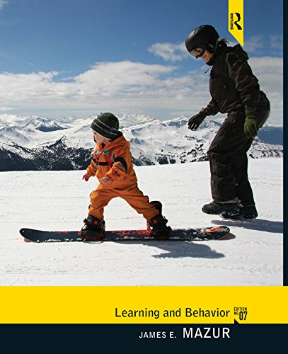 Learning and Behavior: Seventh Edition Pdf
