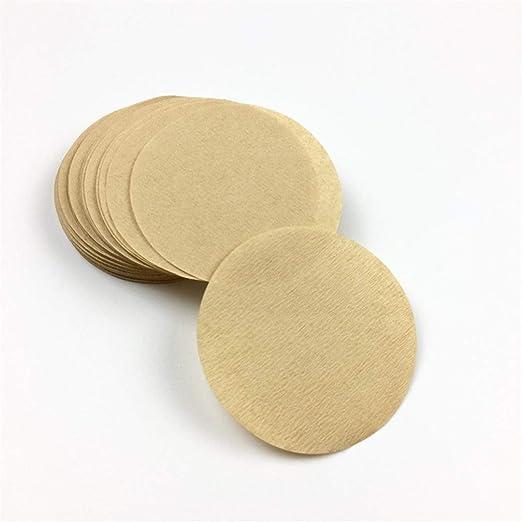 400 filtros de café redondos de papel de 56 mm, 60 mm, 68 mm, para ...