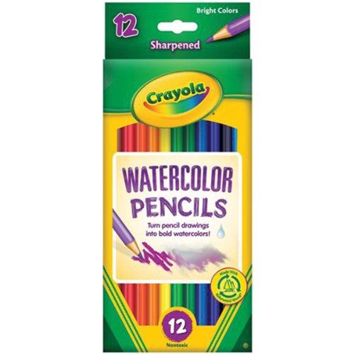 (Crayola 12ct Watercolor Colored Pencils)