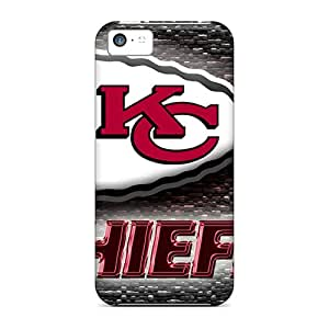 Iphone 5c LOZ16035LIkL Provide Private Custom Nice Kansas City Chiefs Pictures Shockproof Hard Cell-phone Cases -ErleneRobinson