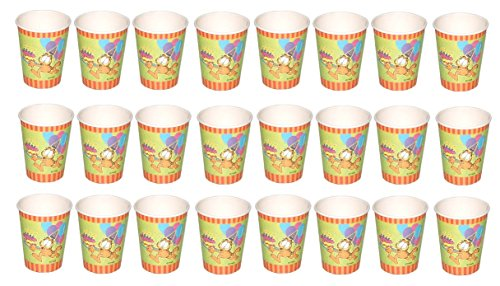 Garfield Happy Birthday Party Paper Cups - 24 -