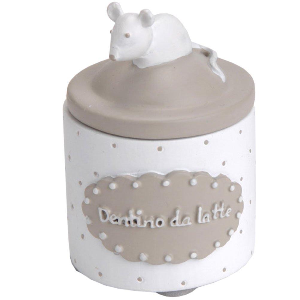 Petite boite à dents de lait blanche - Dentino da latte Funny Pets