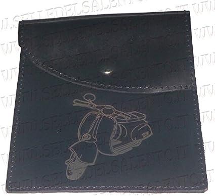 Dokumententasche Aus Echtem Leder Mit Dem Schriftzug Vespa Auto