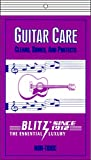 Blitz Music Care 335-4x Guitar Care with 2 Cloths Each Pack, Pack of 4