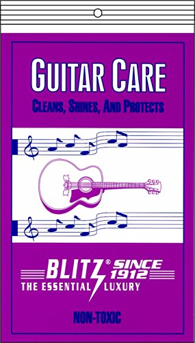 UPC 940895000658, Blitz Music Care 335 Guitar Care with 2 Cloths
