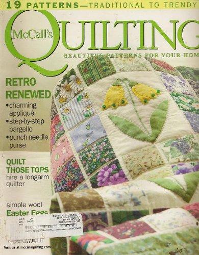 Download McCall's Quilting Magazine, April 2007 (Volume 14, Number 2) pdf epub